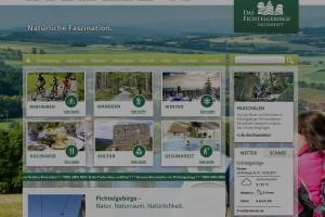 Die Homepage der Tourismuszentrale Fichtelgebirge
